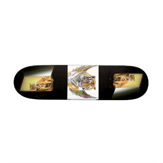 Tigres d'espoir et de Love_ Skateboard