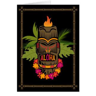 Tiki Aloha Cartes De Vœux