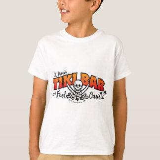 Tiki Bar de lt Dan et marchandises d'oasis de T-shirt