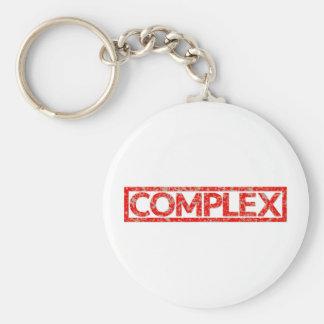Timbre complexe porte-clés