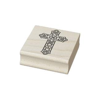 Timbre d'art d'illustration de la croix celtique 2