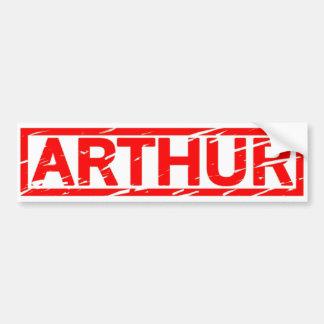 Timbre d'Arthur Autocollant De Voiture