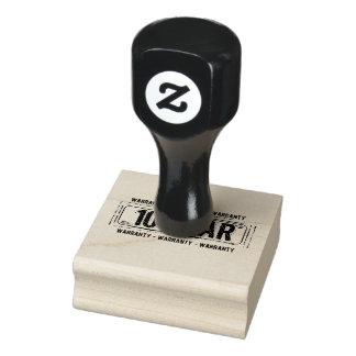 timbre de garantie de 10 ans