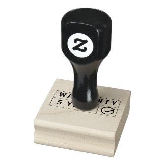 timbre de garantie de 5 ans
