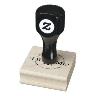 timbre de garantie de temps de la vie