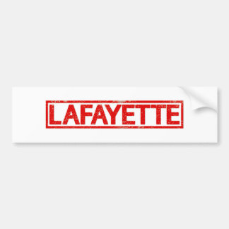 Timbre de Lafayette Autocollant De Voiture