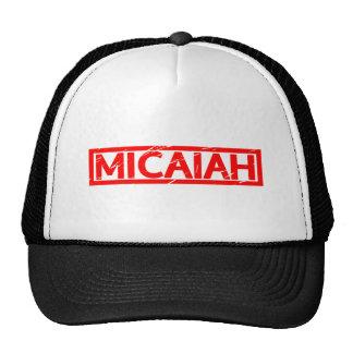 Timbre de Micaiah Casquettes De Camionneur