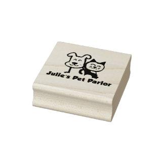 Timbre de salon de l'animal familier de Julie