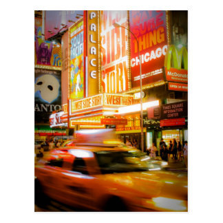 Time Square New York Cartes Postales