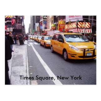 Times Square, carte postale de New York