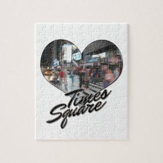 Times Square de souvenir d'horizon de NYC New York Puzzle