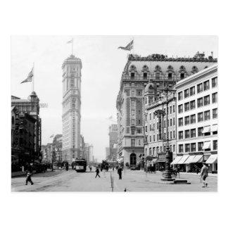 Times Square en 1908 Cartes Postales