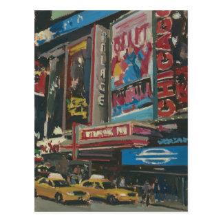 Times Square lumineux 2012 de lumières Carte Postale