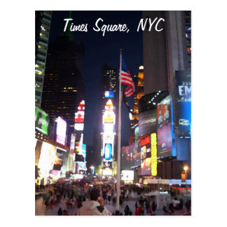 """Times Square, New York City, Etats-Unis"" Carte Postale"