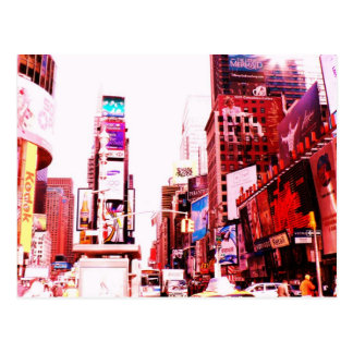 Times Square NYC Carte Postale