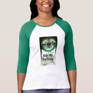 """Timmy """"m'embrassent que je suis"""" T-shirt irlandais"""
