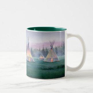 TIPI MYSTIQUE par SHARON SHARPE Mug Bicolore