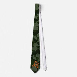 Tir à l'arc de Camo Cravates