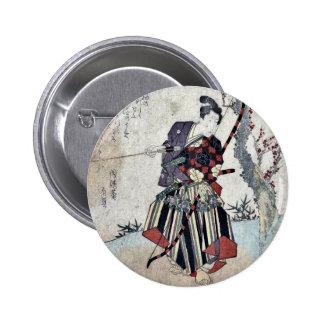 Tir à l'arc par Yanagawa, Shigenobu Ukiyoe Pin's