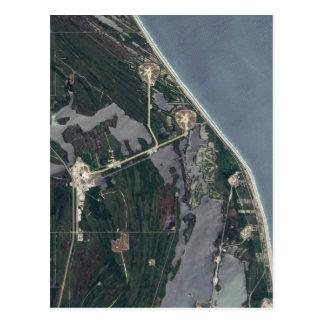 Tir d'antenne de Cap Canaveral Carte Postale