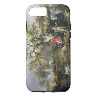 Tir de perdrix (huile sur la toile) coque iPhone 7