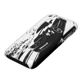 Tir de roulement de mustang coques iPhone 3 Case-Mate