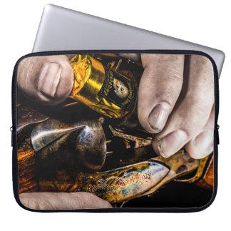 Tir de whiskey housse ordinateur portable