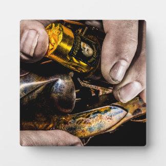 Tir de whiskey photos sur plaques