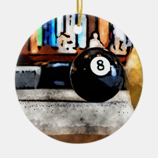 Tir pour la boule huit ornement rond en céramique