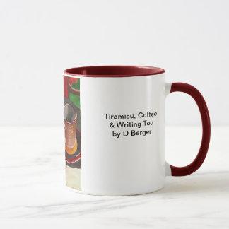 Tiramisu, café et inscription aussi mugs