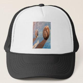 Tiré de l'illustration de boules de billard sur le casquettes