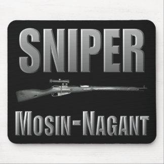 Tireur isolé Mosin-Nagant Mousepad Tapis De Souris