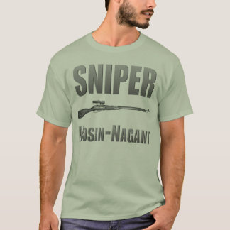 Tireur isolé Mosin-Nagant T-shirt