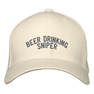 Tireur isolé potable de bière casquette brodée