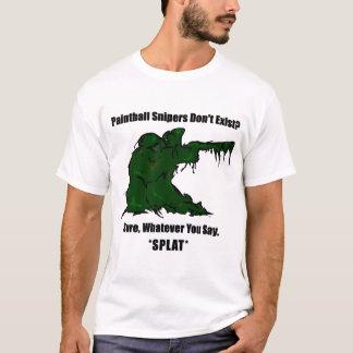 Tireurs isolés de Paintball T-shirt