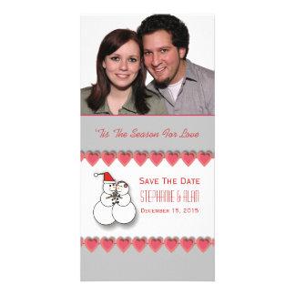 'Tis la saison pour des économies d'amour le carte Carte Avec Photo