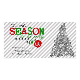 Tis les cartes photos de saison cartes avec photo