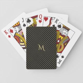 Tisonnier personnalisé de rayure de contrôle de jeu de cartes