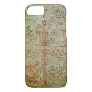 Tisserand du codex 507 fol.2r, cordonnier, coque iPhone 8/7