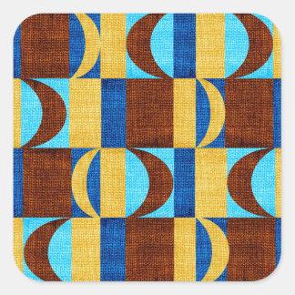 tissu #2 sticker carré