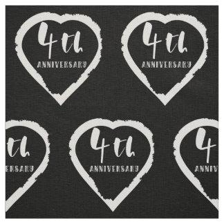 Tissu 4ème Toile d'anniversaire de mariage