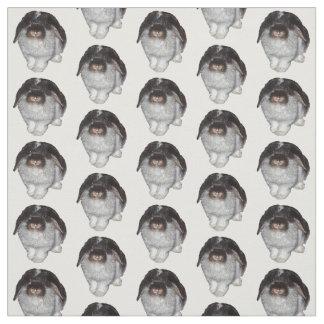 Tissu à oreilles de lapin de Lop (choisissez la