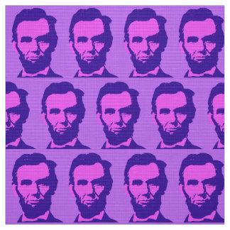 Tissu Abraham Lincoln dans le rose et le pourpre