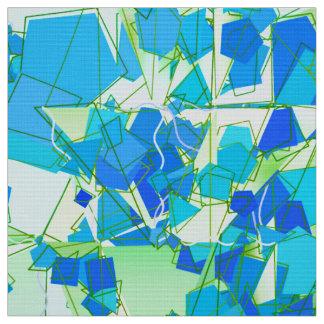 Tissu Abrégé sur moderne la moitié du siècle, Aqua et