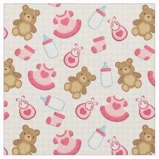 Tissu adorable de bébé