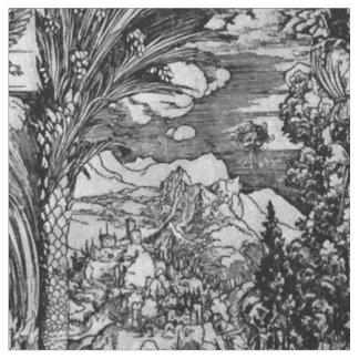 Tissu Albrecht Dürer noir et blanc