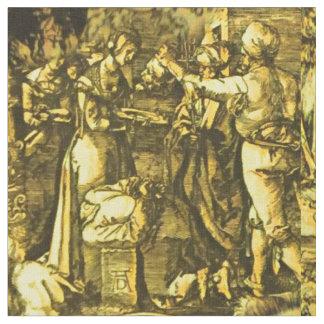 Tissu Albrecht Dürer Sienne