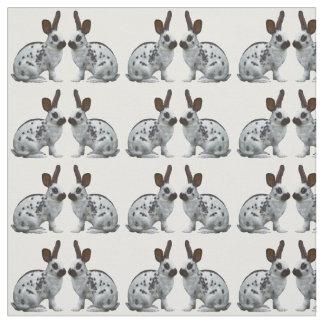 Tissu anglais de frénésie de lapin (choisissez