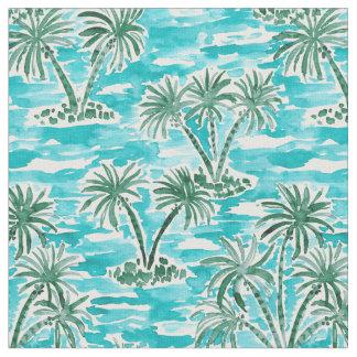 Tissu Aquarelle hawaïenne tropicale du PAYS DES