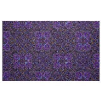 Tissu arabesque coloré Boho-romantique d'ornement de